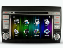 Free Shipping 7 inch Car DVD GPS Player Navigation Audio For Fiat Bravo 2007 2008 2009 2010 2011 2012 Radio USB SD Free Map