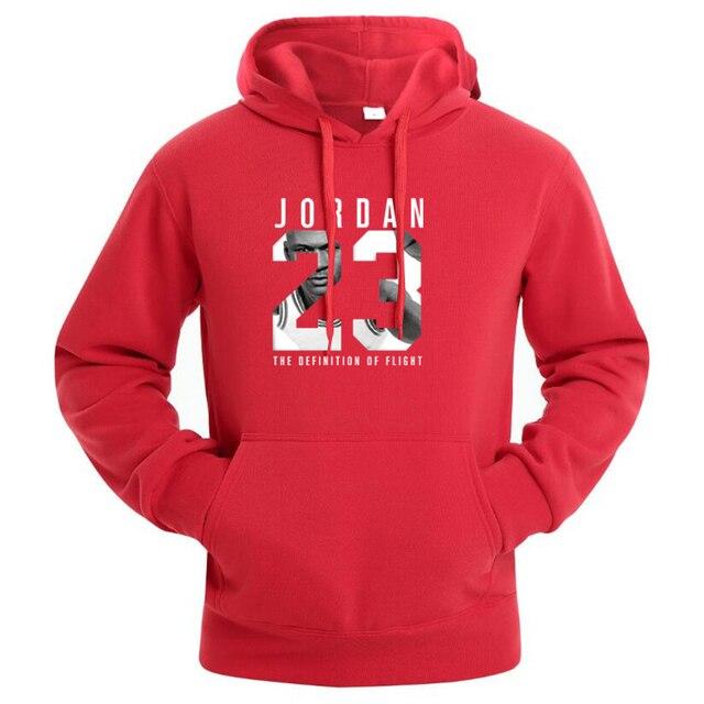 3de04394a357 Jordan Streetwear Hoodies Men Sweatshirts Hood Pullover Hip Hop Tracksuit  Sweat Coat Harajuku Male Hoddies Red Black Blue 3XL