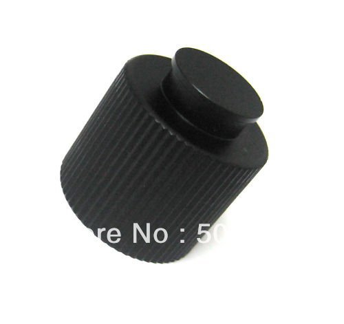 Co2 Cylinder HPA/CO2 Tank Valve Black Alumium Thread Protector 1pcs Paintball New