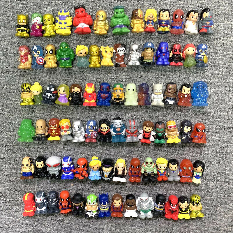 1PC MARVEL DC Comics Pencil Toppers Series 1 2 3 The hulk Super Hero Model Figure Spiderman Action Figure Kids Gift image