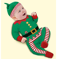 Fashion Christmas Baby Rompers Cotton Newborn Clothes Long Sleeve Girl Boy Costume Climbing Clothing Infant Coverall Jumpsuit