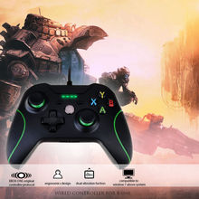 USB Wired Gamepad Controller Joystick Joypad For Microsoft Xbox One Game Playing