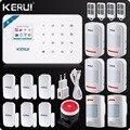 Kerui W18 Беспроводной Wi-Fi GSM сигнализация IOS Android APP управление ЖК GSM SMS домашняя охранная сигнализация система ПЭТ иммунное движение Pet Motion