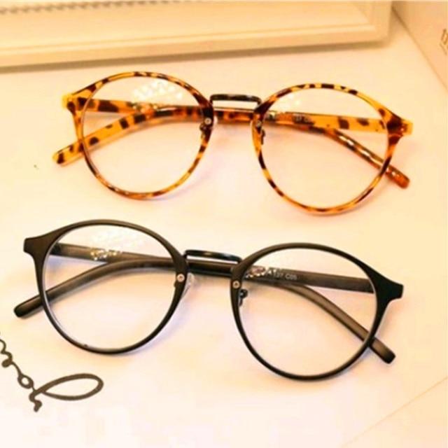 KOTTDO Retro Rodada Óculos Homens Mulheres óculos de Leitura Computador  Transparente do Olho Do Vintage Óculos 4aa5f4f411