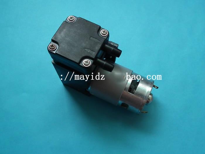 ФОТО DC12V vacuum pump/negative pressure suction absorption pump/piston pump 42L/min-85kpa