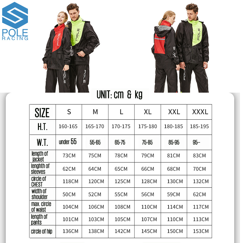 outdoor sports wind resistant Fashion Outdoor sports Wind-resistant jacket men waterproof rain coat suit.High Quality wear-resisting motorcycle raincoat (2)