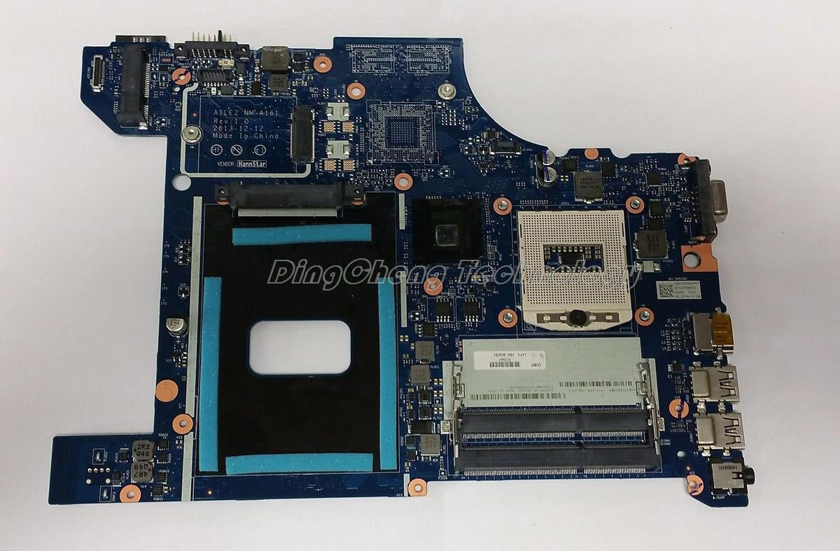 SHELI laptop Motherboard For Lenovo Edge E540 04X4781 AILE2 NM-A161 HM87 HD5000 DDR3 integrated graphics card 100% tested