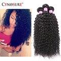 7A Cabelo Virgem Encaracolado Kinky 3 Pcs Muito Humano Brasileiro Extensões de cabelo Baratos Kinky Curly Bundles Tecer Cabelo Brasileiro Em venda