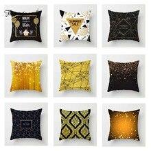 Fuwatacchi Geometric Cushion Cover Deer Floral   Soft Throw Pillow Cover Decorative Sofa Pillow Case Pillowcase