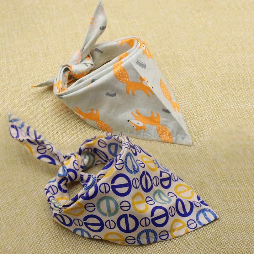 5 Colors Optional Pet Dog Scarf Collar Puppy Cat Triangular Bandage Decoration Neckerchi ...