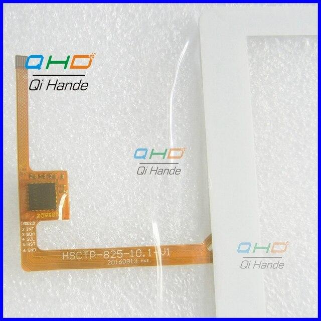 1 Шт./лот бесплатная доставка Подходит для HSCTP-825-10.1-V1 сенсорный экран почерк экрана планшета Замена панели Части