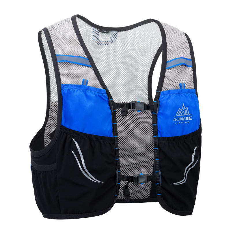Responsible Nylon Vest Trail Running Backpack Men Women Outdoor Cycling Hiking 8l Running Bags Marathon Fitness Hydration Sports Accessories Fancy Colours Running Bags Running