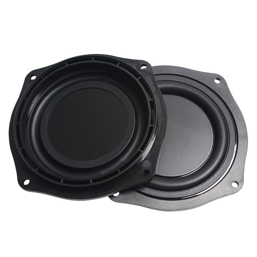 2Pcs Lot Black 4 INCH 113 6mm Frame Radiator Speaker Film Passive Plate Audio Bass Vibration Diaphragm