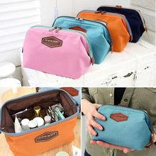 цена на New Fashion Cotton Multifunction Makeup Organizer Bag Women Cosmetic Bags Necessery Box Travel Bag Handbag
