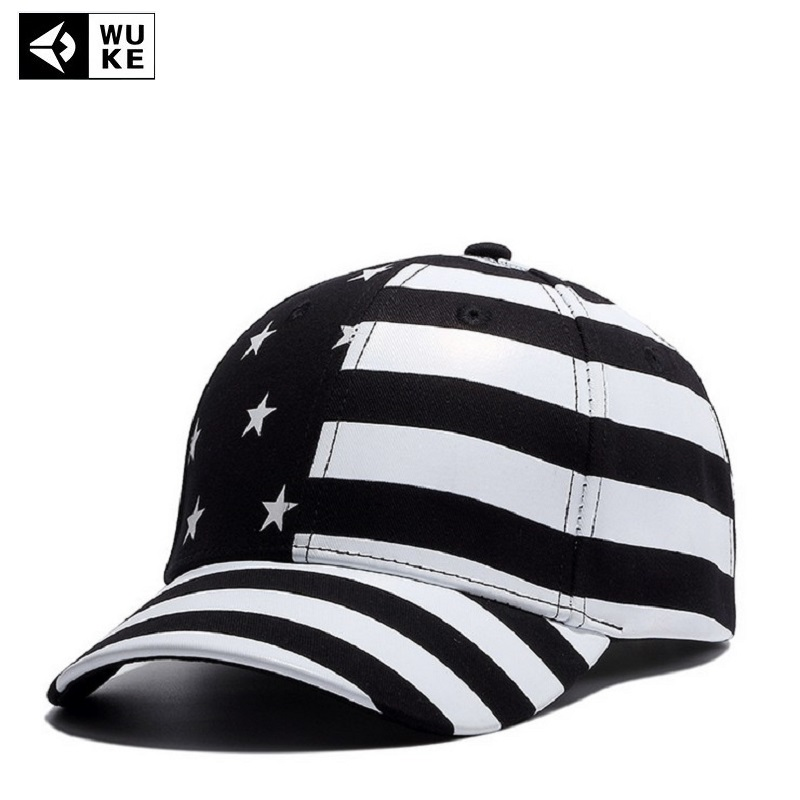 the latest men and women all right baseball cap four seasons flag hip black with american camo patch