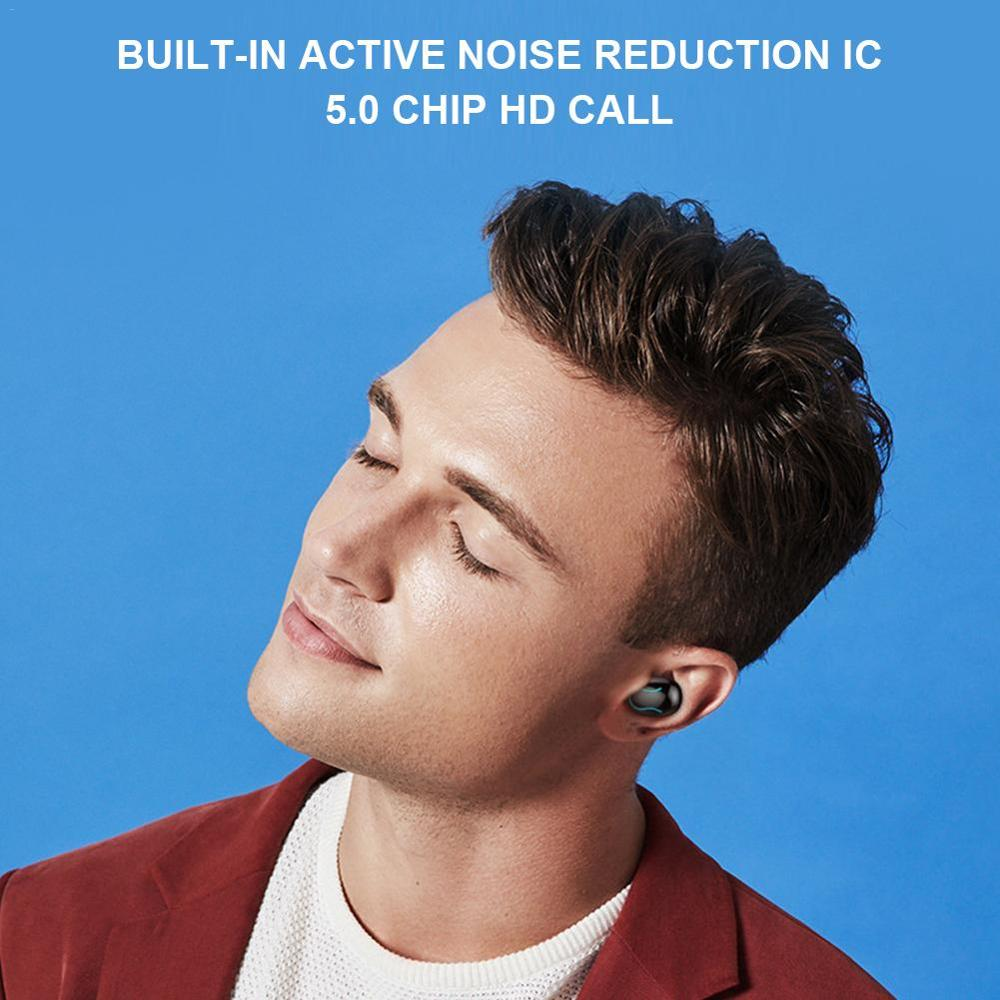 Image 4 - Bluetooth 5.0 Wireless Earphones Handsfree Sports Headset Wireless Headset Bluetooth Earphones Headset-in Bluetooth Earphones & Headphones from Consumer Electronics