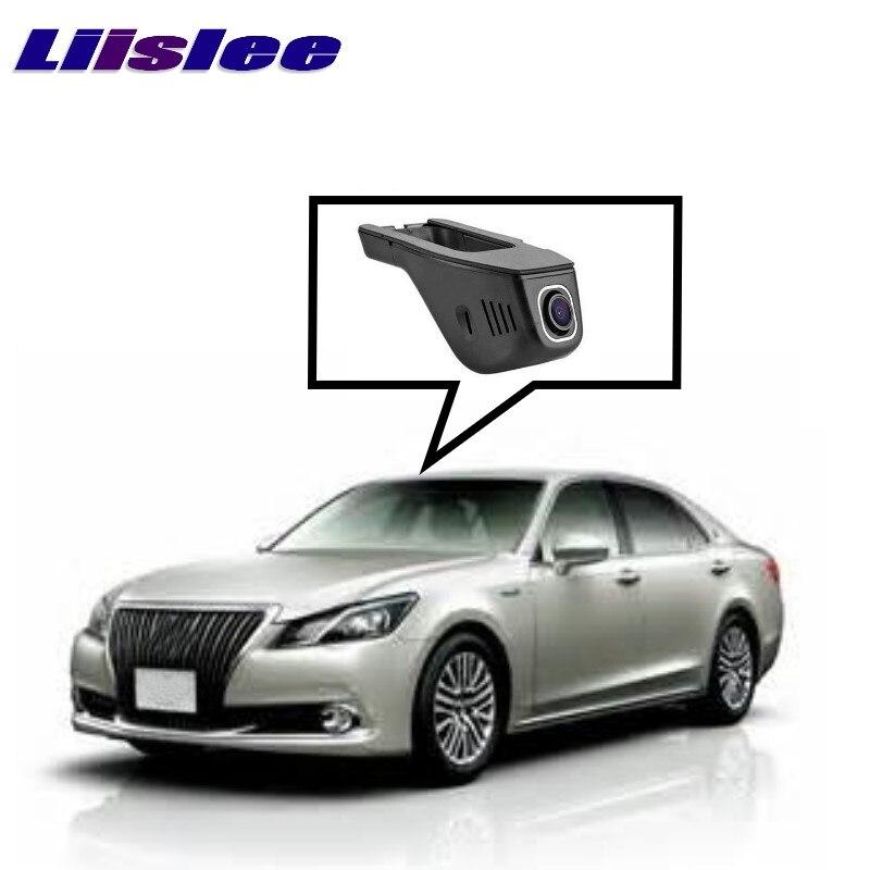 LiisLee enregistrement de route de voiture WiFi DVR Dash caméra enregistreur vidéo de conduite pour TOYOTA Crown S210 Highlander XU50 2012 ~ 2017