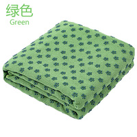 Microfiber Yoga Towel Thickening Anti Slip Plum Blossom Machine Washable Yoga Mat