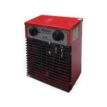 Пушка тепловая электрическая Ресанта ТЭП-2000Н (компактная) (3 режима мощности 25/1000/2000 Вт, площадь обогрева до 20 кв.м, Поток воздуха 200 м3/час)