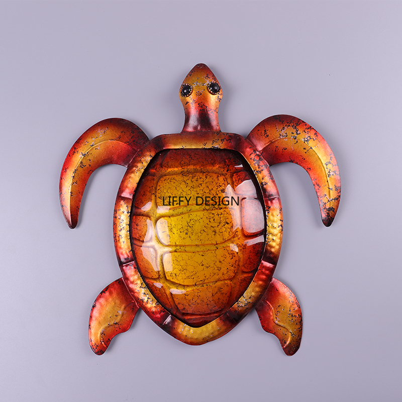 Image 3 - Liffy Turtle Wall Decor for Outdoor Garden Decoration Statues and Miniature Garden Outdoor Decor Animals to Yard Wall Moldings-in Garden Statues & Sculptures from Home & Garden