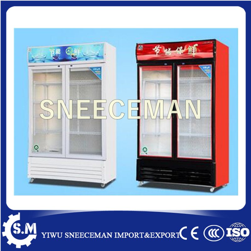 2017 Commercial Beverage Refrigerated Supermarket Display Cabinet Air Cooling Type