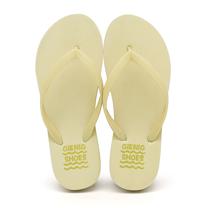 GieniG 2018 Új érkezés női strand flip flop könnyű divatos gumi - Női cipő