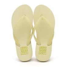 GieniG 2018 Új érkezés női strand flip flop könnyű divatos gumi alsó női papucs szabadtéri csúszásmentes puha szandál