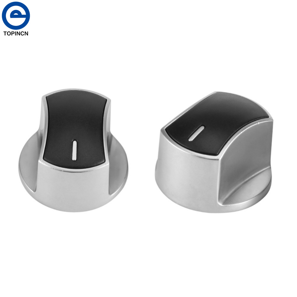TOPINCN 2pcs Kitchen Gas Stove Cooker Oven Knobs Cookware