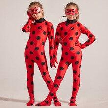 Anime Ladybug Costume Disfraz Ladybug Costume for Children G