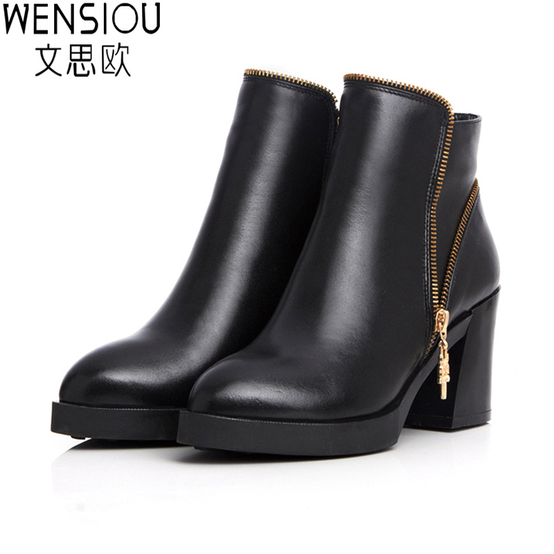 2015 New Fashion Women Riding Boots Elegant Black High Heel Casual British Style Martin Boots Genuine Leather Riding Boots BT61 аромаджаз масло жидкое для лица свежесть мяты и огурца 200 мл