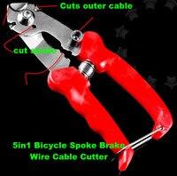 5in1 Fahrrad Speichen Bremse Draht Kabel schlauch Cutter Zange für bike Schaltwerk Brems Kabel Gehäuse Speichen Scissor Fahrrad Reparatur Werkzeuge