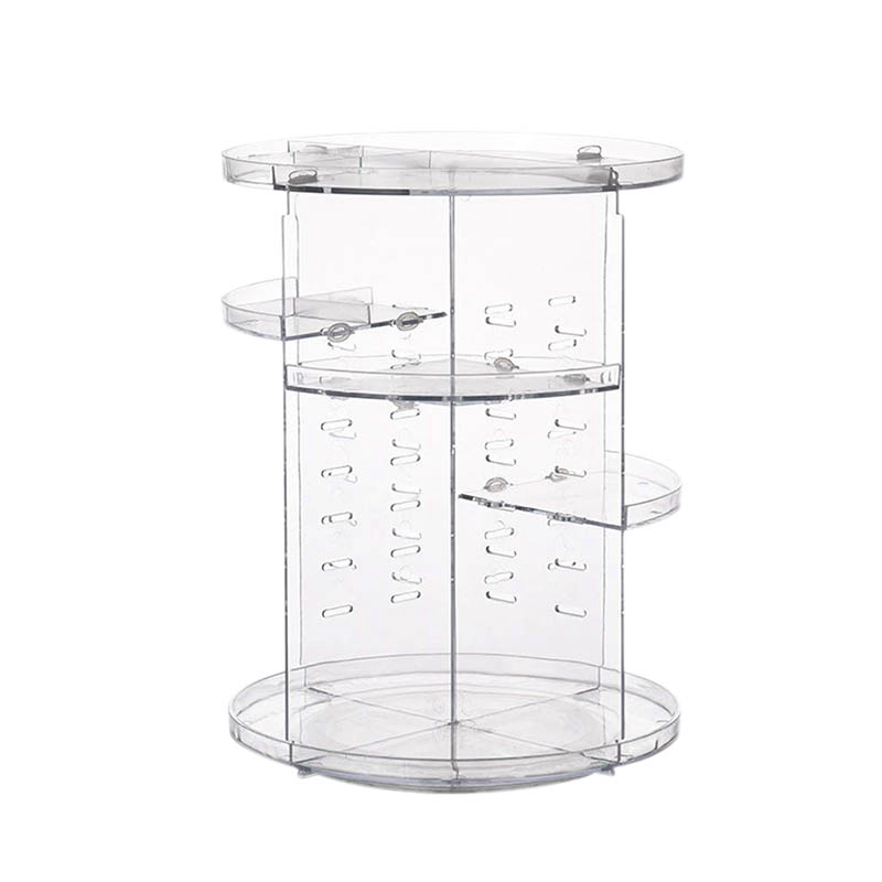 ABLA Rotating Makeup Organizer, Cosmetic Storage Jewelry Box(China)
