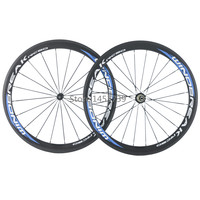 High Quality 50mm Clincher Carbon Wheelset 700C Road Bicycle Full Carbon Clincher Carbon Wheels