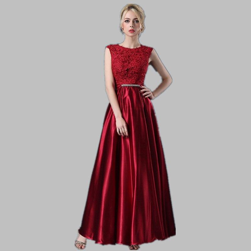 Robe De Soiree 2019 spets ärmlös av axelklänningen - Särskilda tillfällen klänningar - Foto 2