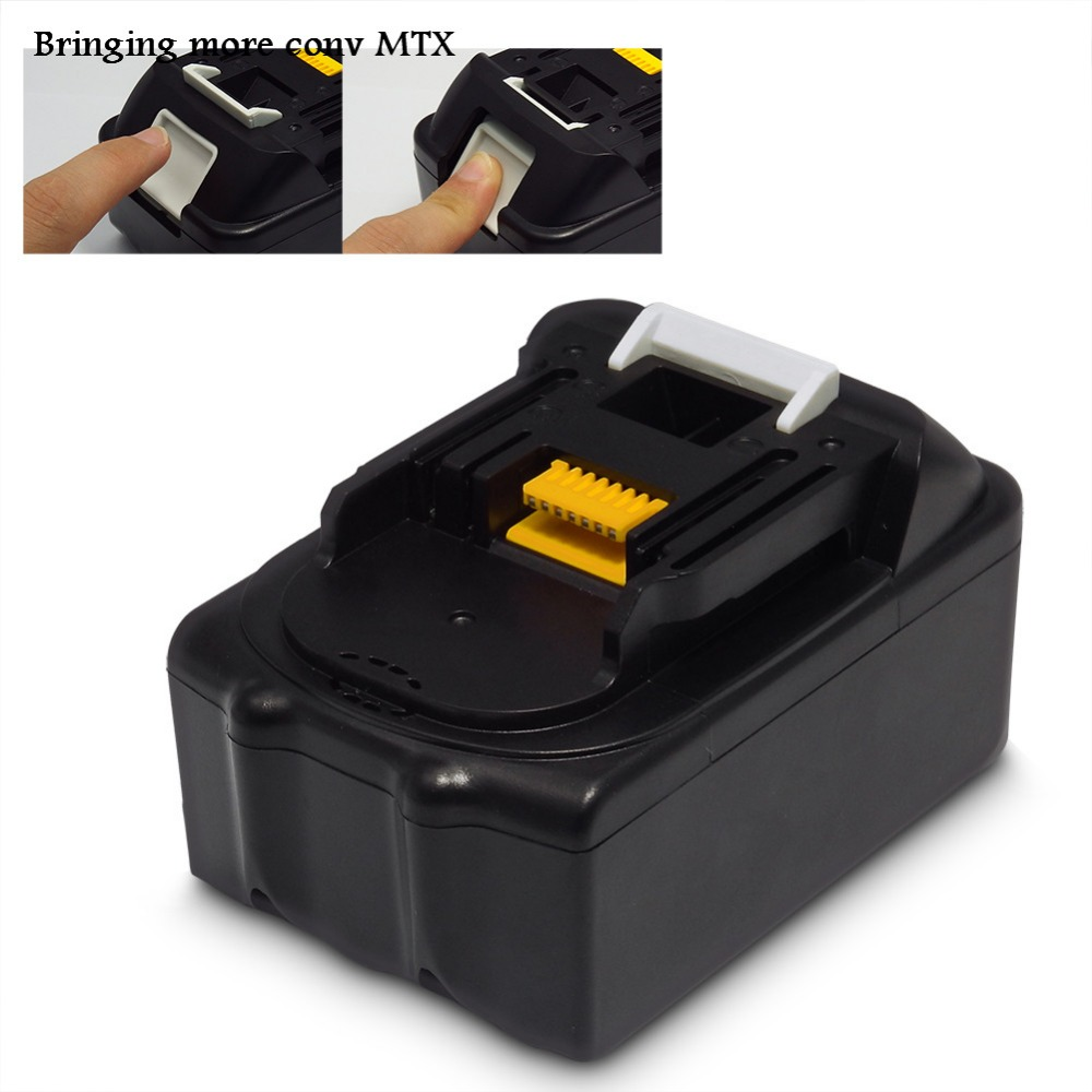 For Makita BL1830 18V 3000mAh Rechargeable Battery MTX Lithium-ion Power Tools Batteries for Drill BL1840 BL1815 Li-Ion 3pcs set 18v lithium li ion battery 3000mah rechargeable replacement power tool battery for makita li ion lxt 18v machines