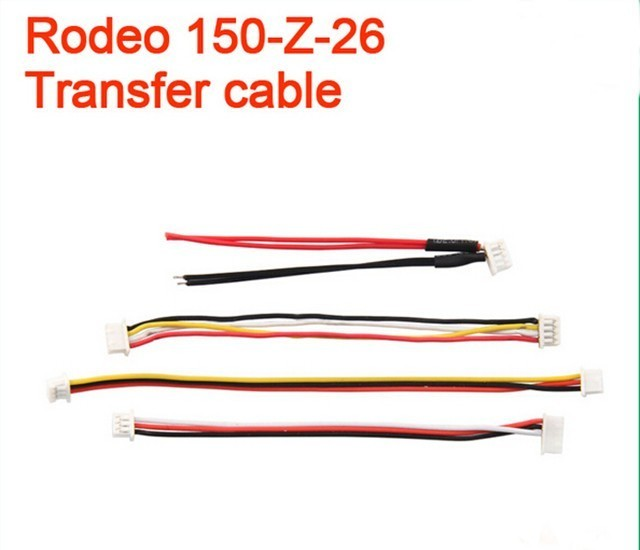 Transfer cable for Walkera Rodeo 150 Drone Spare Parts wire line for Walkera F150 Quadcopter accessories Rodeo 150-Z-26