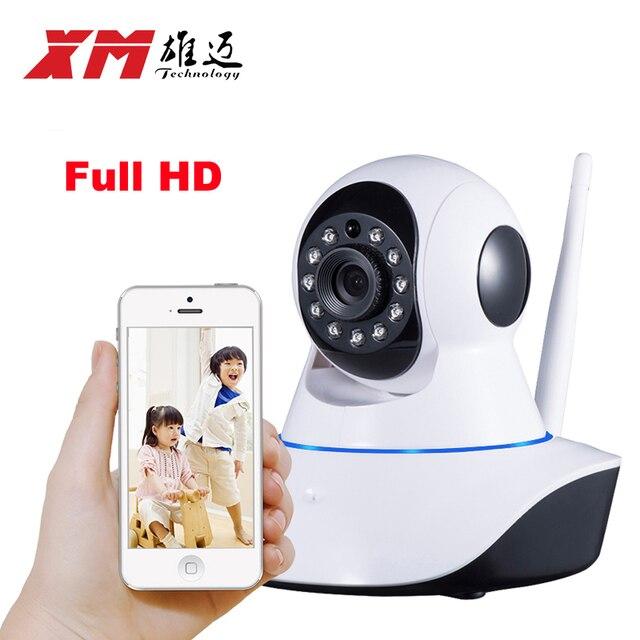 XM 1080 P Беспроводной PTZ Ip-камеры Wifi CMOS Ночного Видения H264 PTZ ИК Безопасности Камера Motion Обнаружения Домашней Безопасности