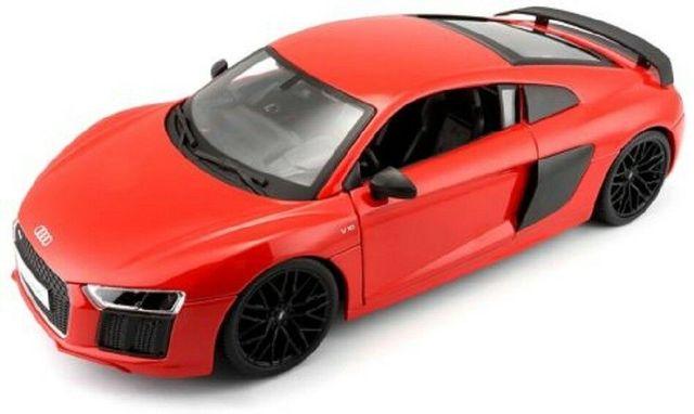 Vehículo Audi Juguete En Maisto De Modelo Coche Caja 18 1 Nuevo R8 Carreras V10 Fundición EDIH29