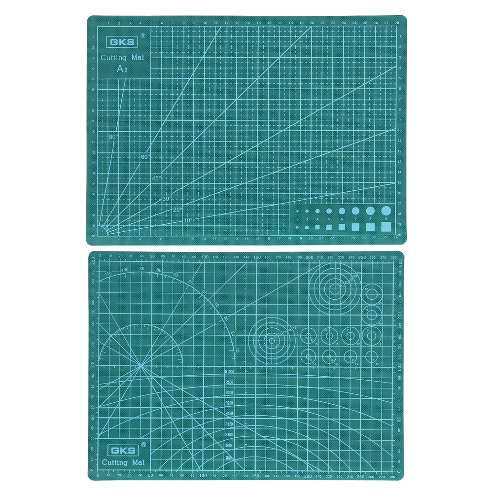 1PCS A2 60*45cm Grid Lines Self Healing Cutting Mat Craft Card Fabric Leather Paper Board Handmade Diy Accessory Cutting Plate