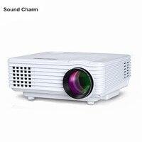 Sound charm HD Projector mini LED digital Video TV LCD Proyector native 800x480 HDMI USB Home Theater Projektor Beamer