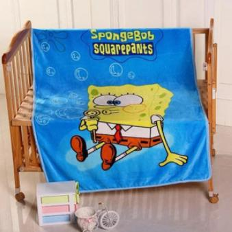 9794fe3a0b Winter Baby Blanket  Children Girl s Soft Coral Quilt 100 140cm Hello kitty  Cartoon Characters plaid fleece Blankets Wholesale 8-in Blanket   Swaddling  from ...