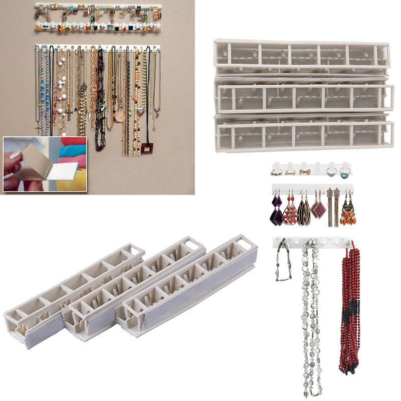 9pcspack Jewelry Earring Organizer Hanging Holder Necklace Display