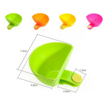 4pcs/lot Assorted Salad Saucer Ketchup Jam Dip Clip Cup Bowl