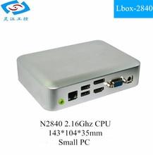 Mini Industrial PC With N2840 CPU 1*RJ45 Lan (Lbox-2840)