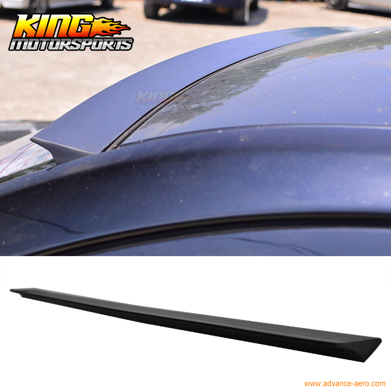For 2008-2012 SAAB 9-3 & Turbo X VRS Style Unpainted Rear Roof Spoiler Wing Visor - PUF for 09 10 11 mazda 6 2nd vrs style roof spoiler wing unpainted puf