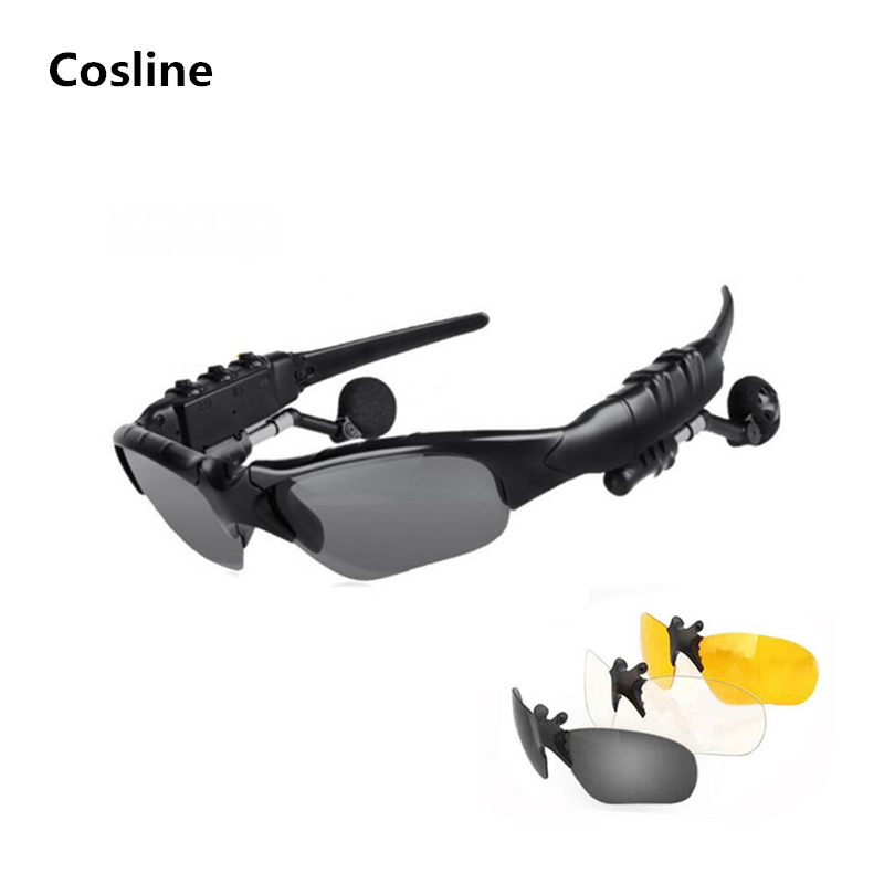 Sunglasses Bluetooth Headset Outdoor Glasses Earbuds Music with Mic Stereo Wireless headband Headphone  Samsung xiaomi mi 4 5 bluetooth sunglasses sun glasses wireless bluetooth headset stereo headphone with mic handsfree for iphone samsung huawei xiaomi