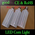 1pcs E27 B22 E40 30W 5050 SMD 165 LED Chip Corn Light AC110V/220V Warm/White Bulb Maize Lamp Home Indoor Outdoor street lighting