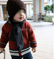 Новое Прибытие Ограниченных Твердых Вскользь Unisex Шляпы Baby Дети Младенческая Малышей Шапочка Hat Теплая Зима Cap Дети Аксессуары