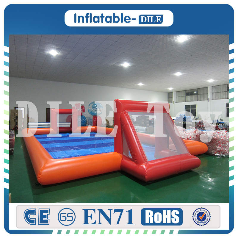 free air shipping to door,High quality Adult Inflatable Soccer Field Football Table Inflatable Human Foosball Court