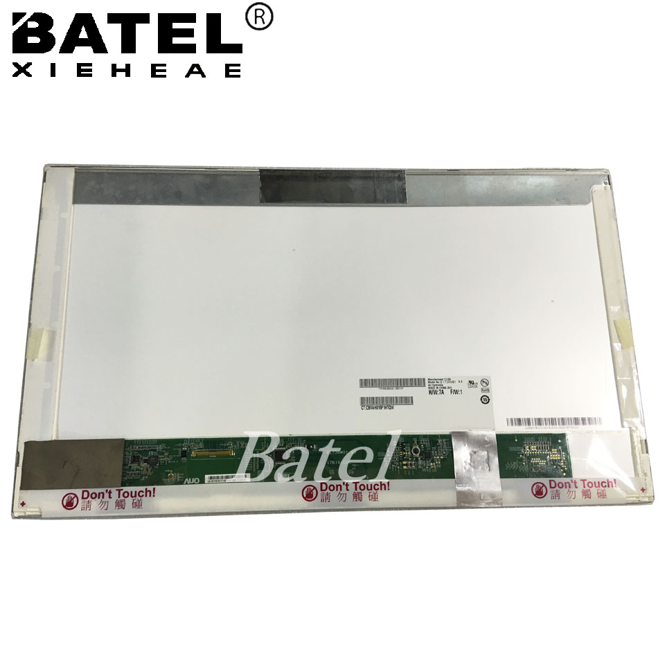 B156XTN02.0 for dell inspiron N5110 Screen Glossy LCD Matrix for 15.6 HD 1366*768 LED Display Replacement original new laptop led lcd screen panel touch display matrix for hp 813961 001 15 6 inch hd b156xtk01 v 0 b156xtk01 0 1366 768